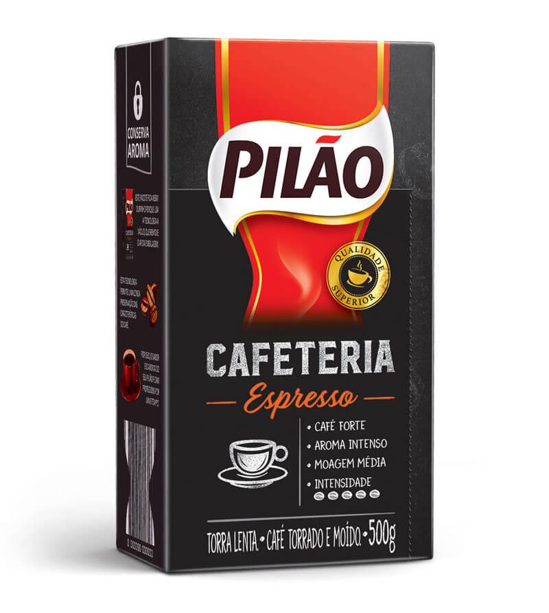 nova linha de café superior de Pilão (pacote sabor Espresso, com aroma intenso)